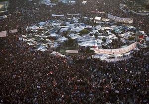 СМИ: В Каире проходит самая масштабная с момента начала протестов демонстрация