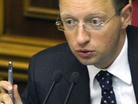 Яценюк сообщил, что 23 апреля оппозиция объявит о формате участия в выборах