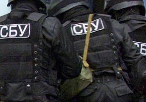 СБУ провела обыски в помещениях Главного управления экологии КГГА