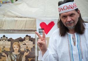 Фотогалерея: Голодовки солидарности. Сторонники Тимошенко отказались от еды в ее поддержку