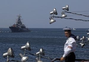 НГ: Киев требует ревизии соглашений по ЧФ