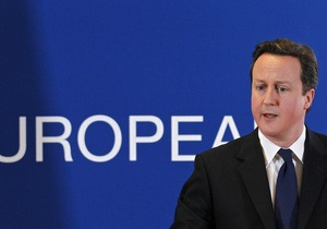 Премьер Британии: В будущем Ливии уже нет места для Каддафи