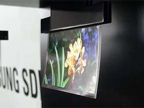 Samsung создала дисплей, толщиной с человеческий волос