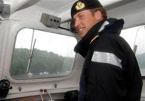 Принц Уильям провел новогоднюю ночь, участвуя в спасательной операции