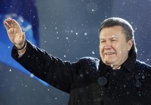 Янукович упоминался в российских СМИ чаще Медведева и Путина