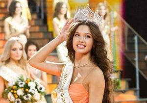 В Москве выбрали самую красивую девушку России