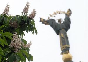 В мэрии Киева считают, что памятник Независимости в центре города может рухнуть