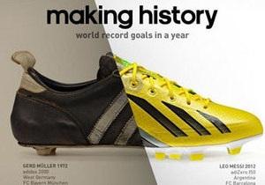 Рекорд Месси стал темой новой рекламы Adidas