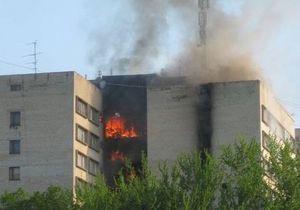 новости Харькова: В Харькове произошел пожар в общежитии: три человека погибли, около 40 пострадали