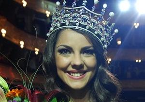 Фотогалерея: Корона досталась Карине. В Киеве выбрали самую красивую украинку