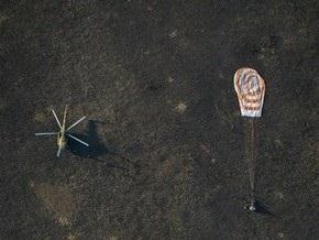 Капсула с космонавтами МКС успешно достигла Земли