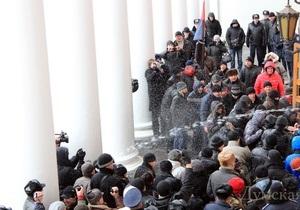 Прокуратура начала расследование штурма Одесского горсовета