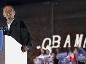 Опрос: соотношение голосов коллегии выборщиков на стороне Обамы