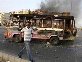 Межэтнические столкновения в Пакистане: более 20 погибших