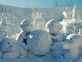 Украинцы победили на канадском фестивале снежных скульптур