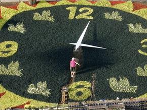 Цветочные часы в центре Киева снова запустят