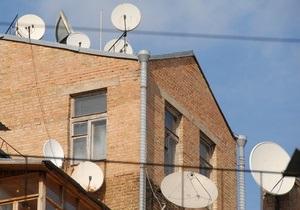 Россия установила телевещание для шести приграничных с Украиной районов