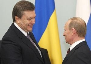 НГ: Янукович заново познакомится с Путиным