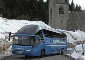 Новости Германии: В Германии водитель автобуса попросил пассажиров заплатить за бензин