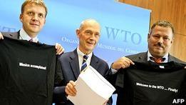Россия вступает в ВТО после 18 лет переговоров