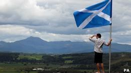 Лидер Шотландии хочет референдум о независимости в 2014