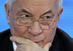 Российский газ от RWE обходится Украине на $100 дешевле, чем газ, купленный на границе с РФ - Азаров