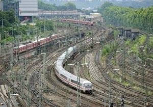 В Германии два поезда столкнулись, десять человек погибли