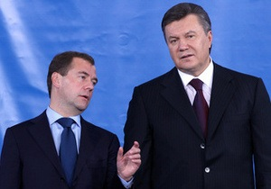 В Москве Янукович проведет личную встречу с Медведевым