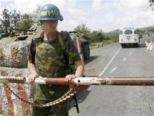 Абхазия закрывает границу с Грузией