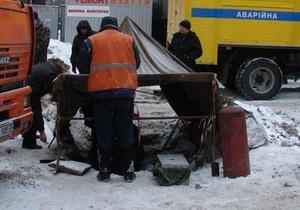 Во Львове 100 тысяч жителей остались без воды