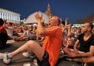 За время Евро-2012 Украину посетило больше миллиона болельщиков