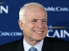 Маккейн объявил себя официальным кандидатом от республиканцев