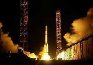 В России поезд с ракетой Протон попал в аварию