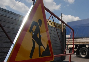 В Киеве ограничили движение по Надднепрянскому шоссе по ночам до 30 мая