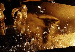 Украина за 11 мес. снизила валютную выручку от экспорта черных металлов на 15,5%