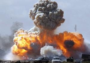 Авиация НАТО вновь нанесла удар по резиденции Каддафи