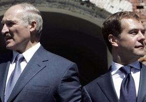 Лукашенко не поздравил Медведева с днем рождения