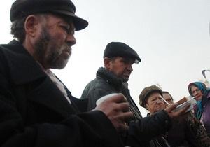 Во Львове организовали рождественский Сочельник для бомжей