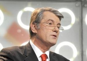 Ющенко назвал политическим соглашение о продаже контрольного пакета акций ИСД