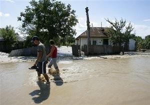 Жертвами наводнений в Румынии стали 20 человек