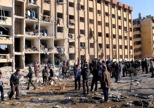 Число жертв взрывов в сирийском университете превысило 80 человек