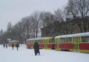 В Киеве до сих пор не возобновлена работа семи трамвайных и семи троллейбусных маршрутов