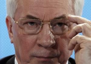 Азаров: Украина не будет иметь существующий газовый контракт с РФ вечно