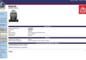 СМИ: Соратница Черновецкого, разыскиваемая по линии Интерпола, не просила политубежища в Британии