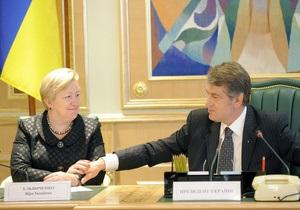 Ульянченко заявила, что Наша Украина самостоятельно пойдет на внеочередные парламентские выборы