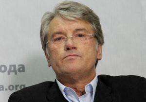 Ющенко считает, что в украинской политике работают два монстра