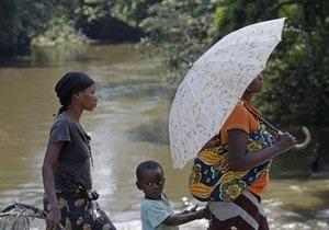В Нигерии два миллиона человек эвакуировали из-за наводнения
