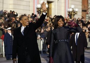 В Вашингтоне прошел парад по случаю инаугурации Обамы
