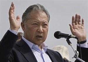 Брат Бакиева назвал фальшивкой факс об отставке президента Кыргызстана