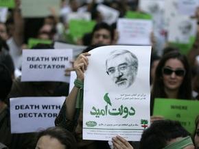 Лидер иранской оппозиции Мусави выступил на митинге в Тегеране